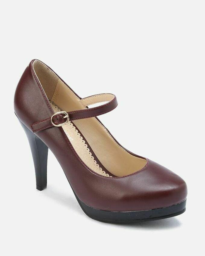 3148 High Heels - Burgundy