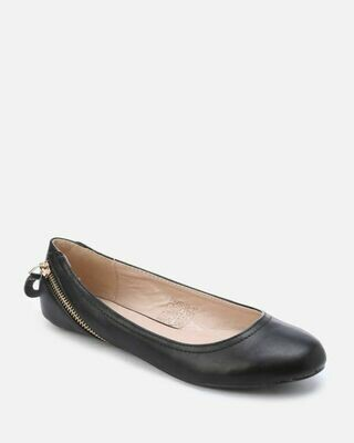 3155 Ballet Flat Shoes - black