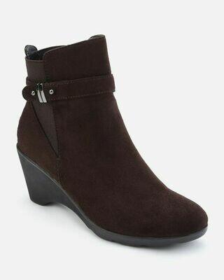 3158 Half Boot - brown su
