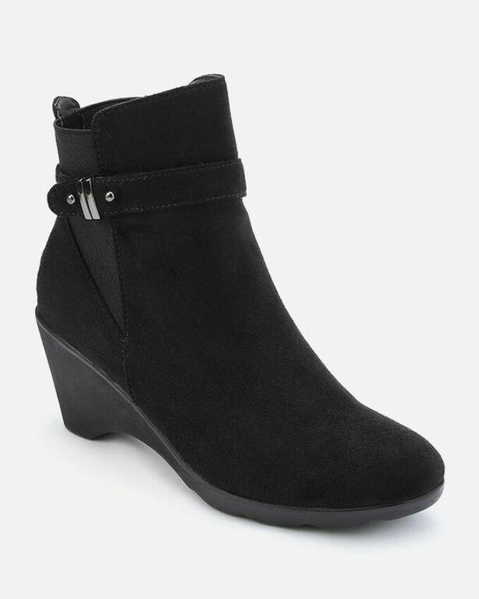 3158 Half Boot - Black su