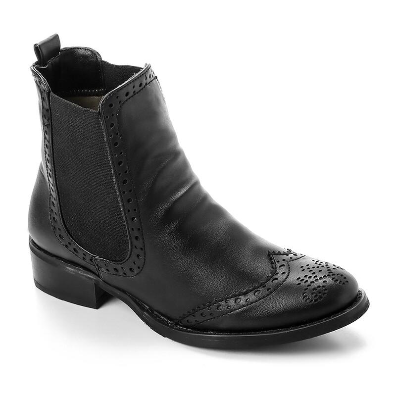3321 Half Boot - Black