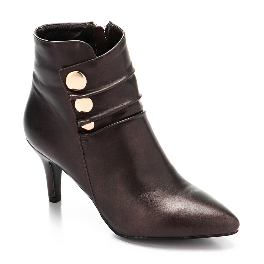 3292 Half Boot - Coffee