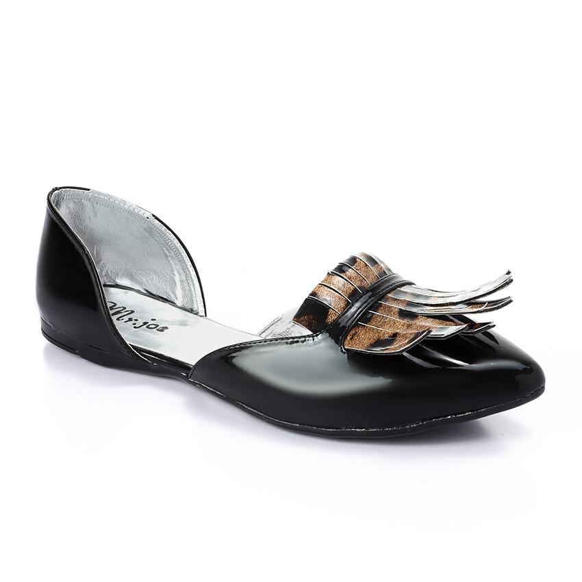 3262 Flat Shoes - burgundy
