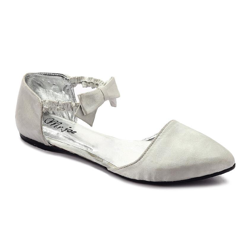 3268 Ballet Flat Shoes -silver
