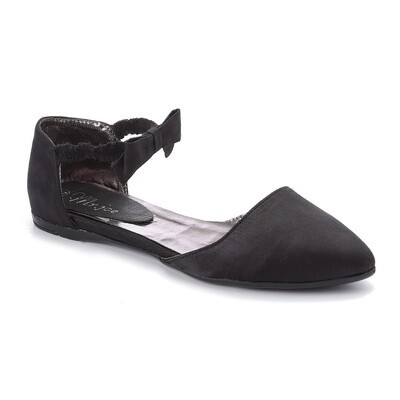 3268 Ballet Flat Shoes -black