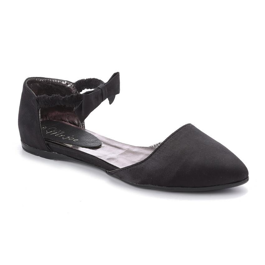 3268 Ballet Flat Shoes -black