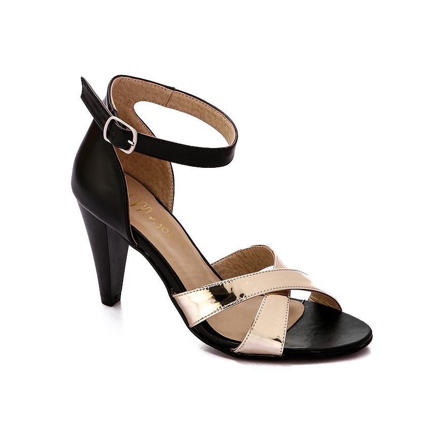 3351 Sandal - black*go;d