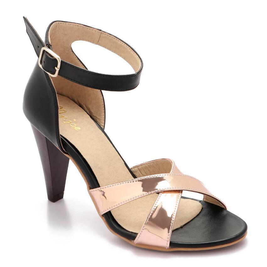 3351 Sandal - black*copper