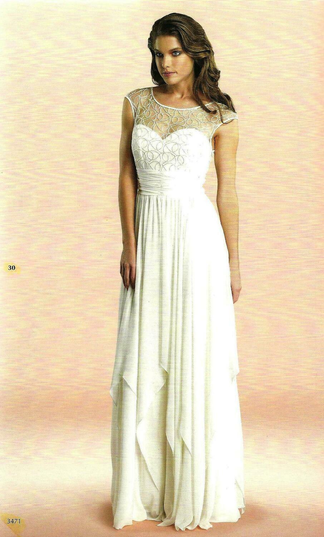 6115 Soiree Dress -offwhite