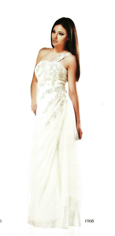 6806 Soiree Dress -offwhite