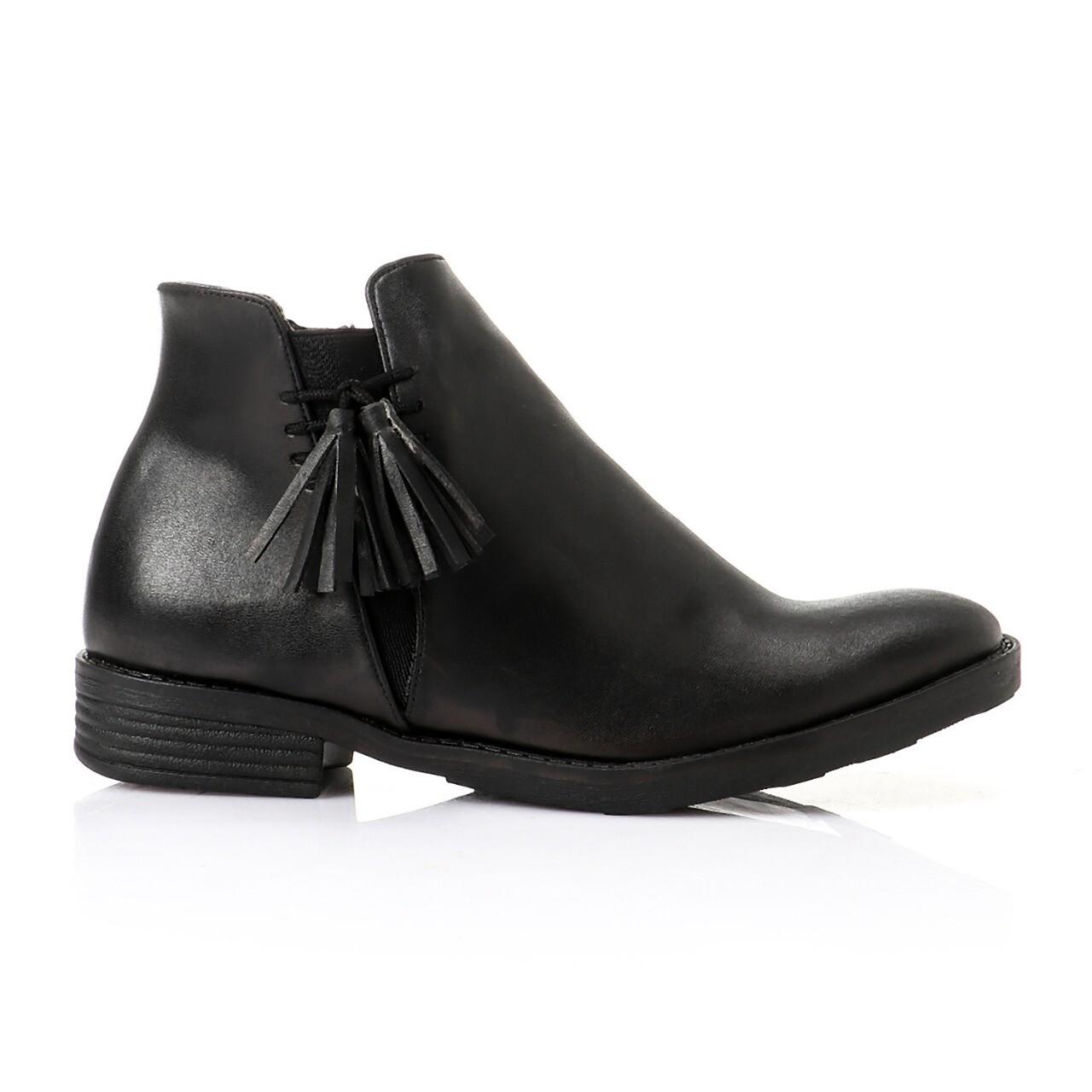 3750-half boot-black