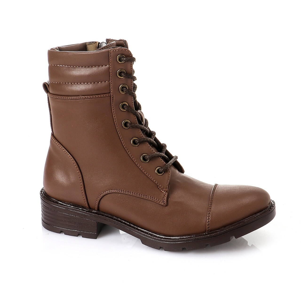 3760 Half Boot - BROWN