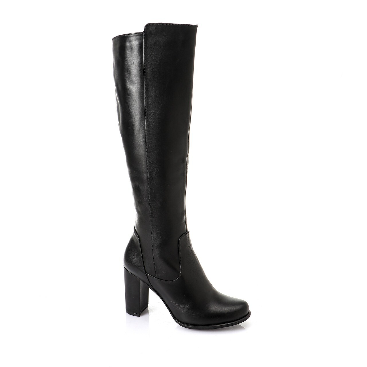 3744 Knee High Boot - Black