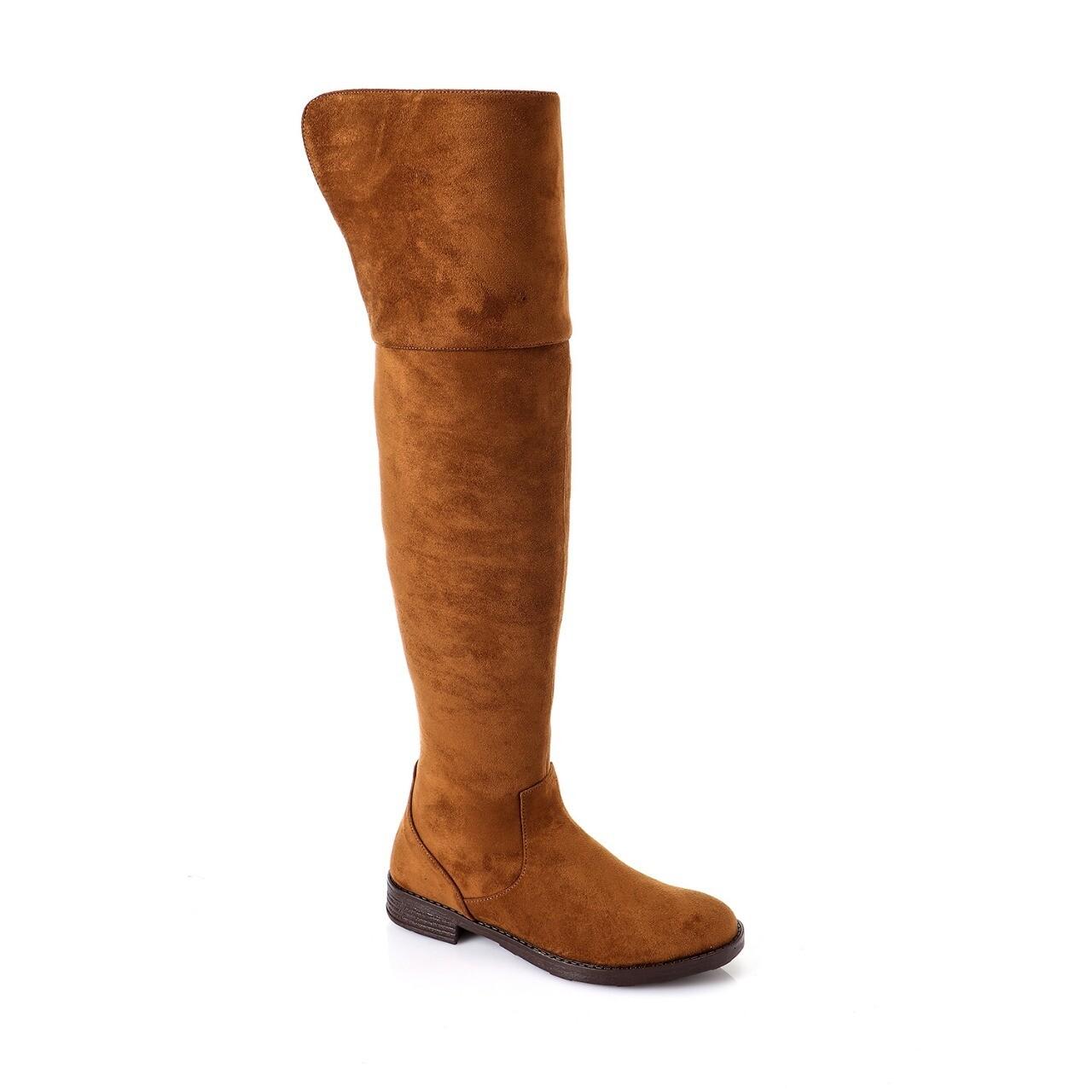 3765 Knee High Boot -CAMEL SU