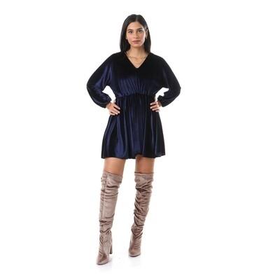 2636-Blue-Soiree Dress