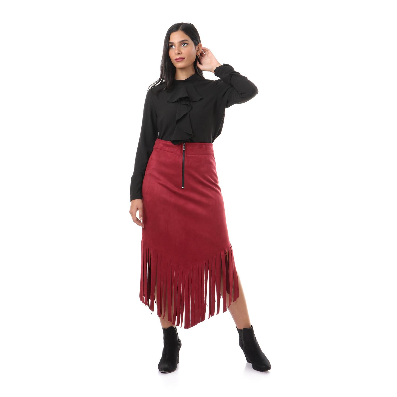 2630-Dark red_skirt