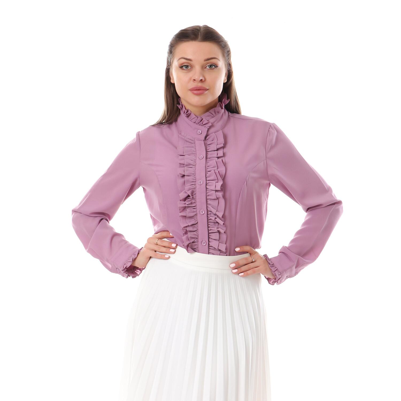 2641- Purple_ blouse