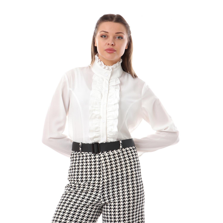 2641- White_ blouse