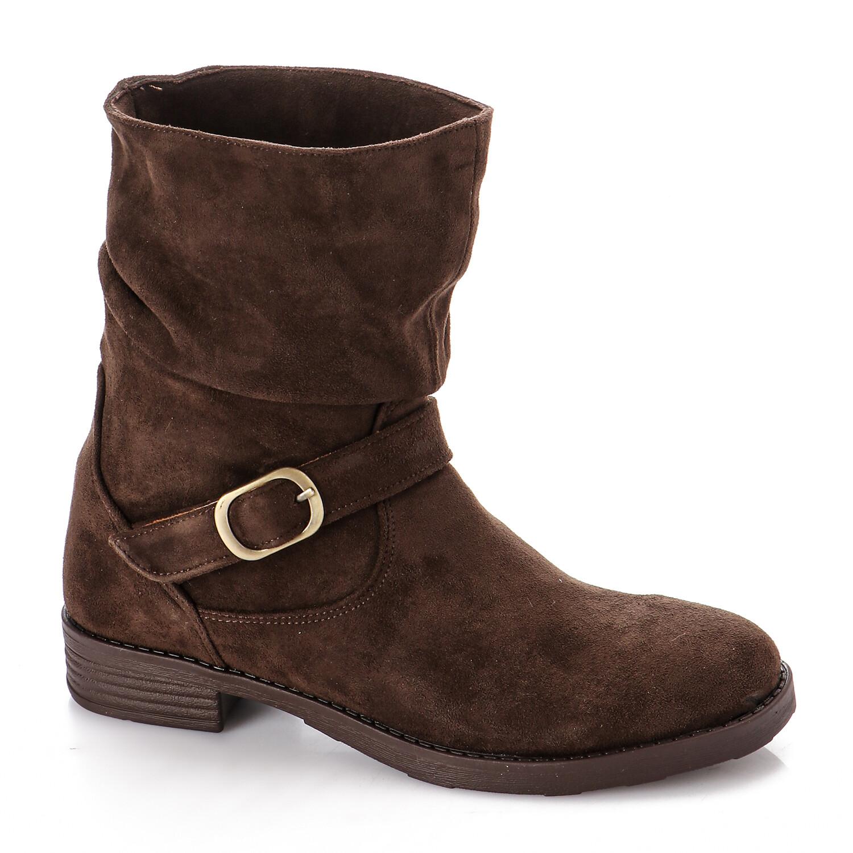 3733 Half Boot -Dark Brown