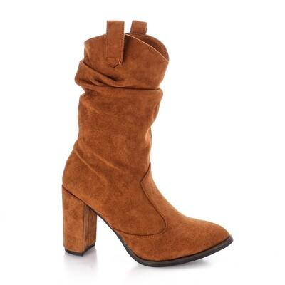 3736 Half Boot - camel su