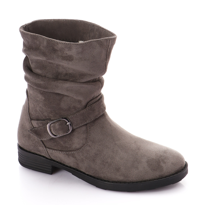 3733 Half Boot - gray SU