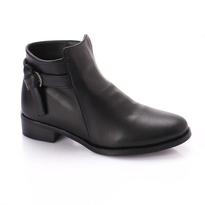3770 Half Boot - Black