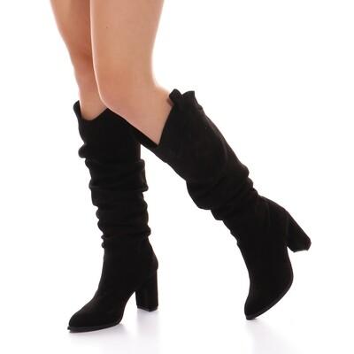 3759  Boot - Black su