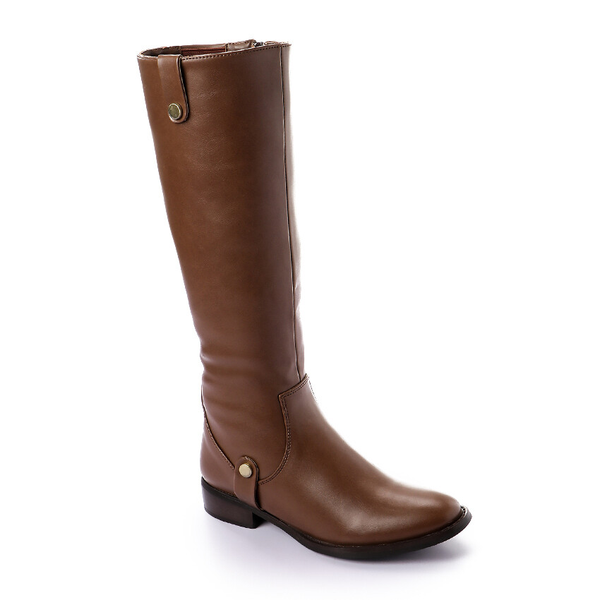 3313- Leather Boot - Brown