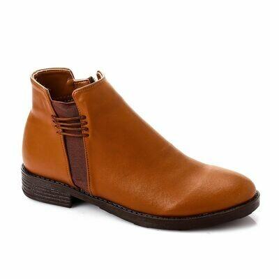 3748 Half Boot - Camel