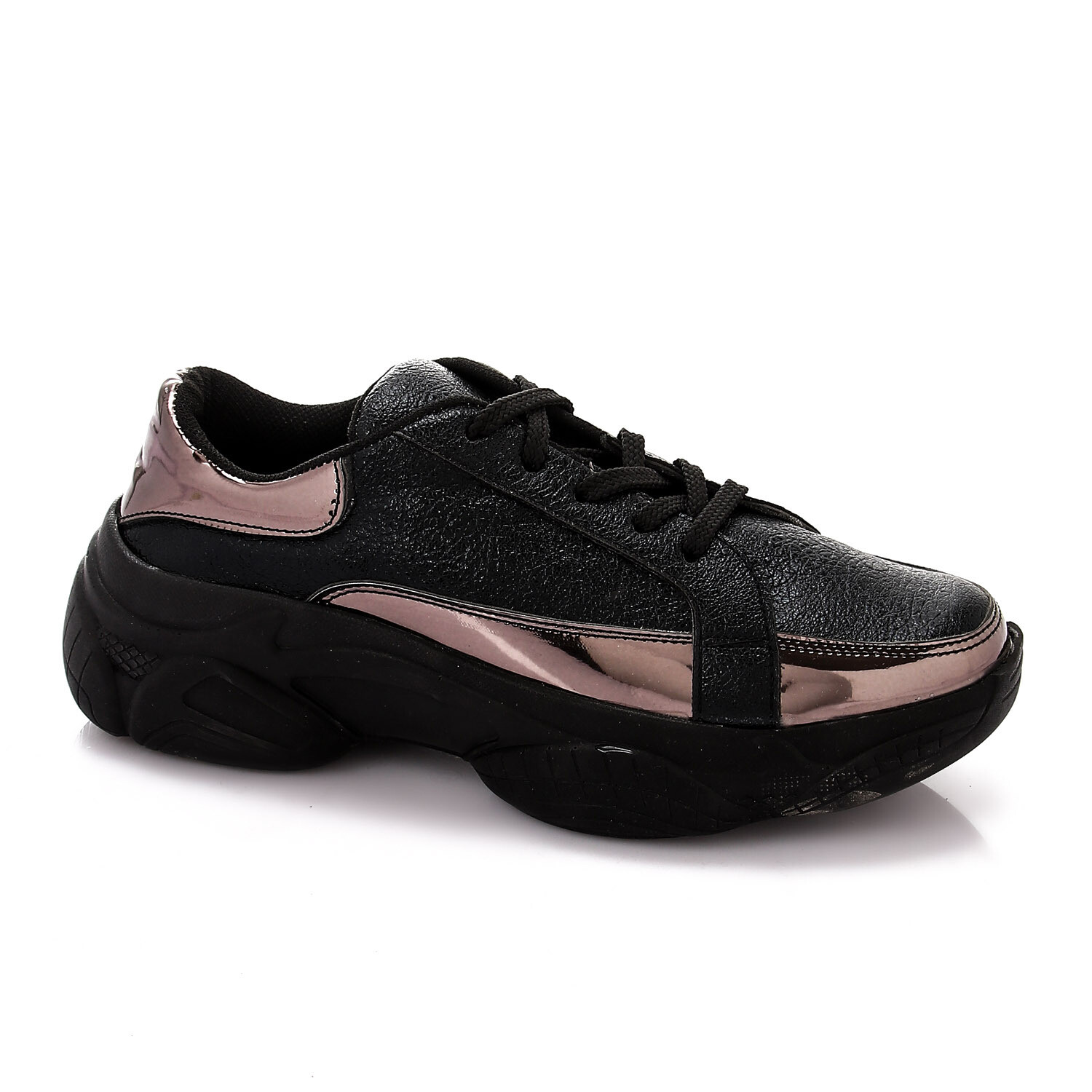 3480 Casual Shoes -Black*gray