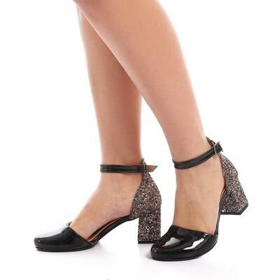 3487 Sandal - Black V