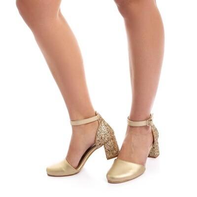 3487 Sandal -Gold