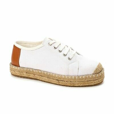 3495- Casual Sneakers -White