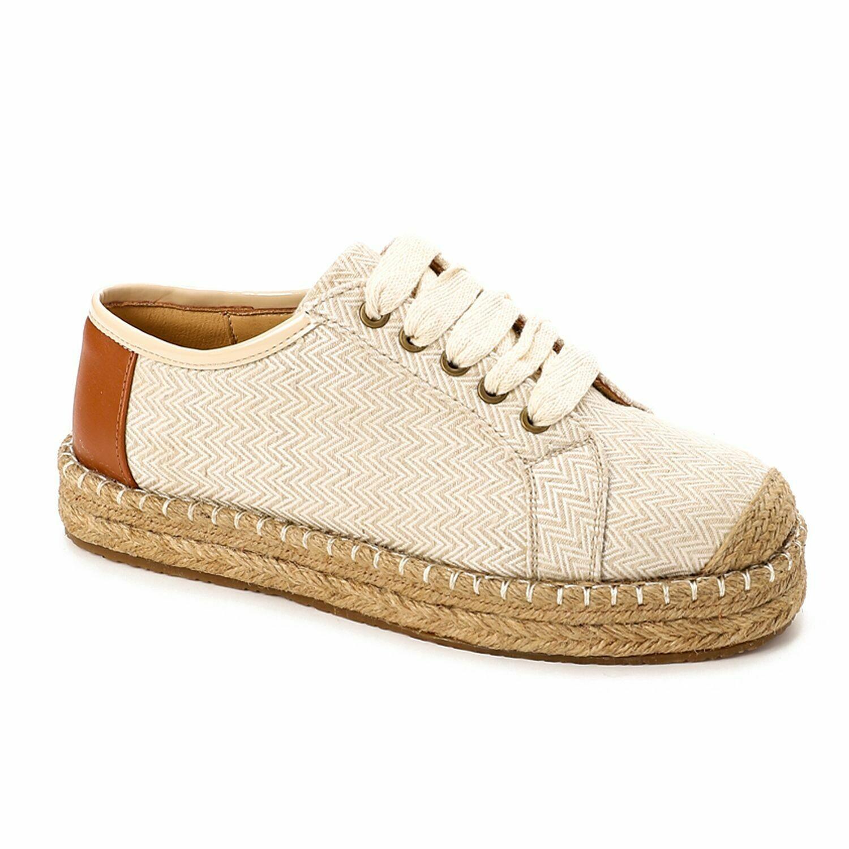 3495- Casual Sneakers -Beige