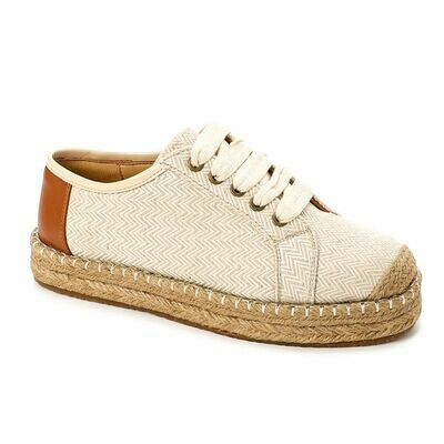 3495- Casual Sneakers -Beige