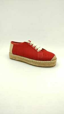 3495- Casual Sneakers -Red