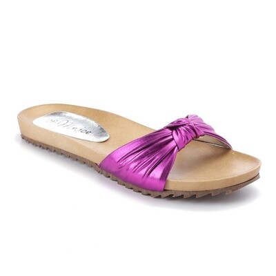 3241 Slippers Fuchia