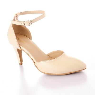 3342 Shoes Biege Vern Heels