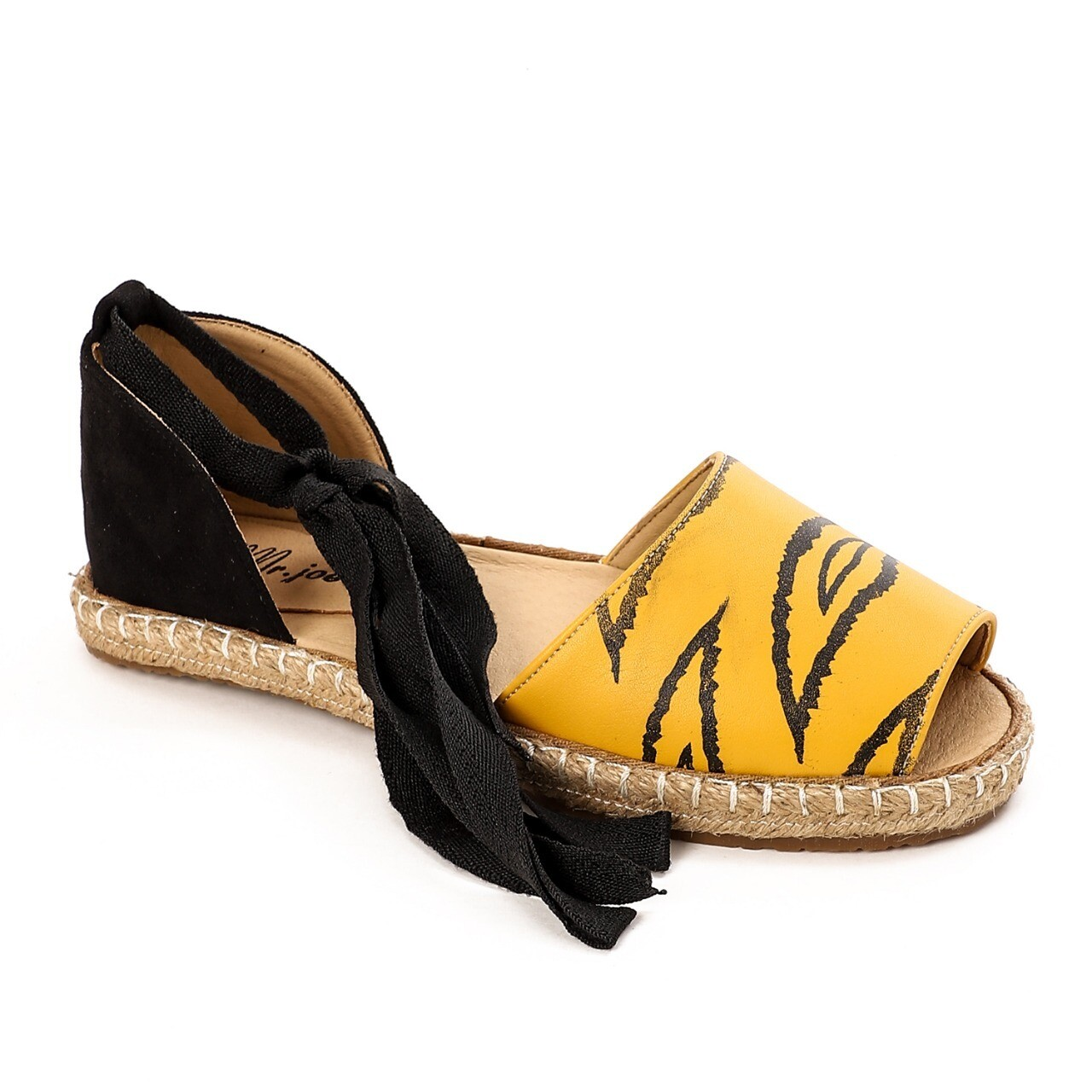3801 Sandal - Yellow