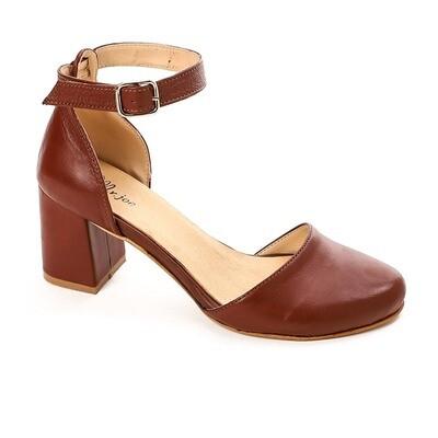 3816 sandal - Camel -جلد طبيعي
