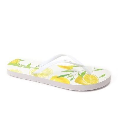 3781 Slipper  White