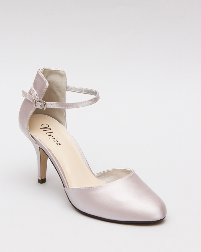 Shoes Satin3588 Silver