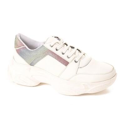3758 Sneakers White*Ganga