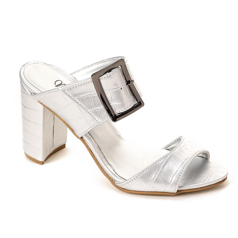 3812  Slipper Silver