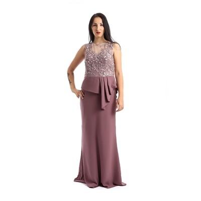 8316 Dress Body Rose