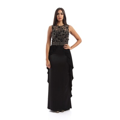 8345 Dress Black