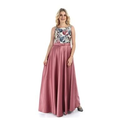 8339 Dress Body Rose