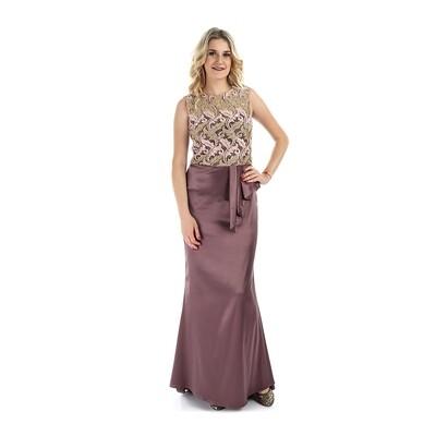 7981 Dress Taupe