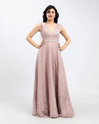 8406 Dress  cashmere