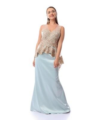 8415 Dress Light Blue